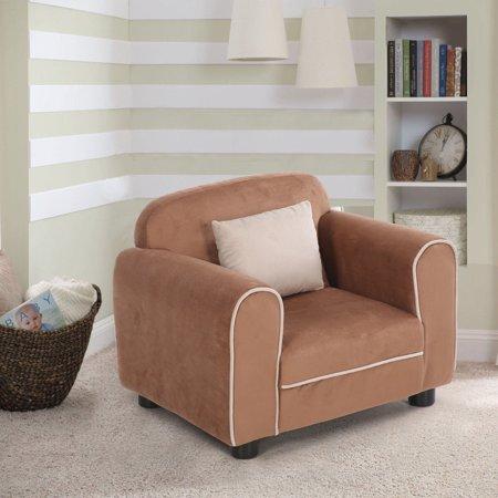 Goplus Kids Sofa Armrest Chair Children Toddler Living Room ...