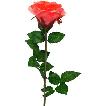 Solar Pink Rose Flower Lights Ed Garden Outdoor Decorative Landscape Led Year Round Great Gift