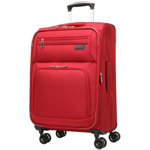 Skyway Sigma 5 21-inch Expandable Carry On Spinner Upright Suitcase Black