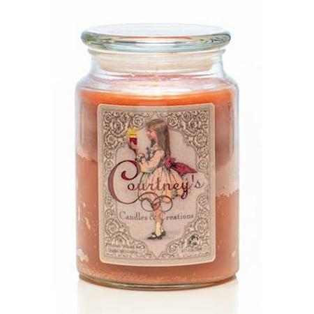 SANDALWOOD BERGAMOT - Courtneys Candles Maximum Scented 26oz Large Jar Candle Bergamot Candle Scent
