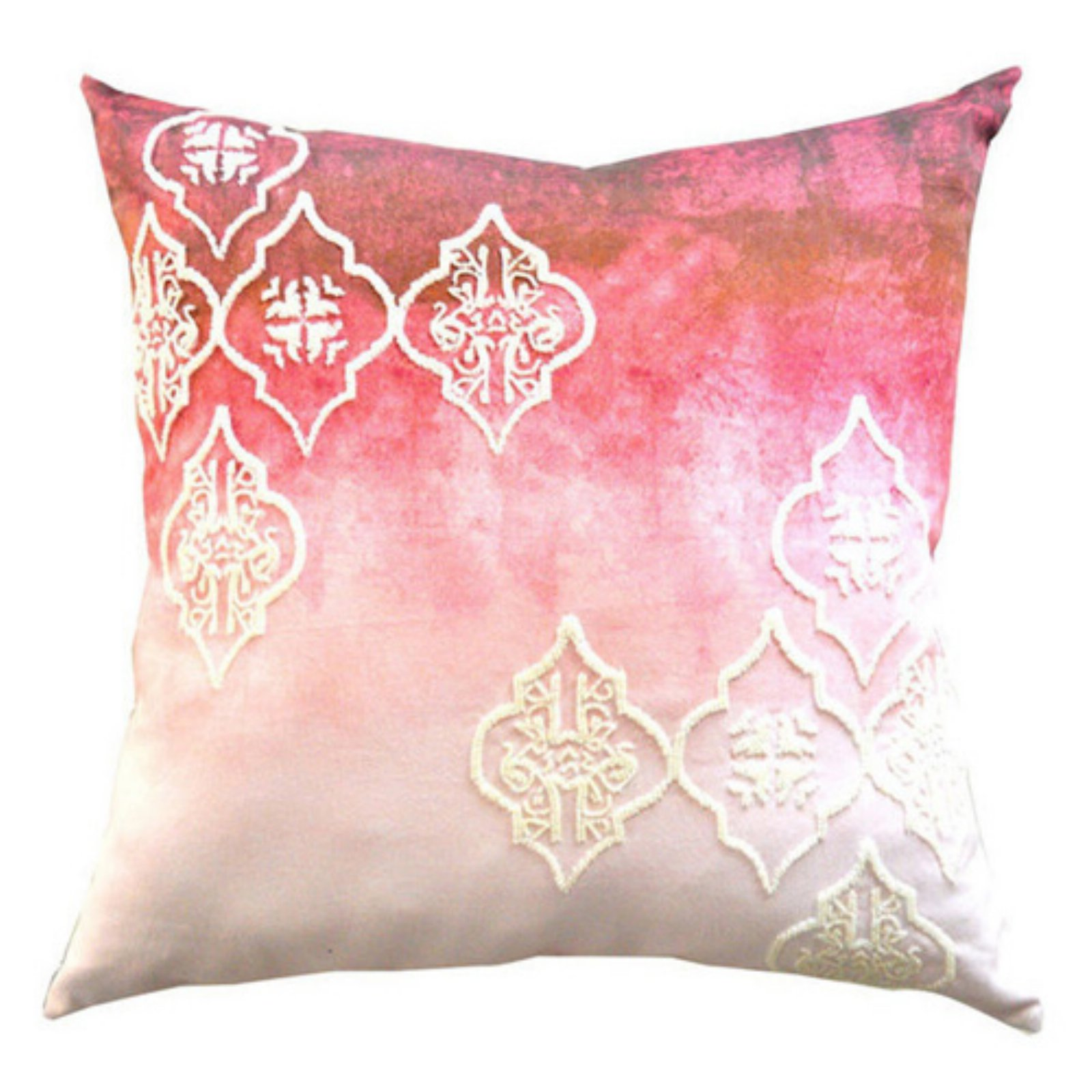 Image of A1 Home Collections Beaded Ogee Decorative Designer Throw Pillow
