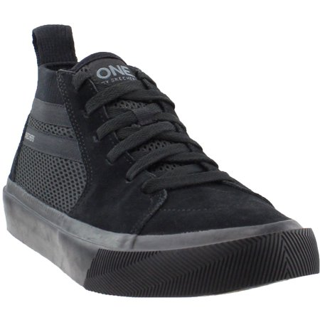 Black Ultra Suede - Skechers Mens One Champ Ultra  Casual Sneakers Shoes -