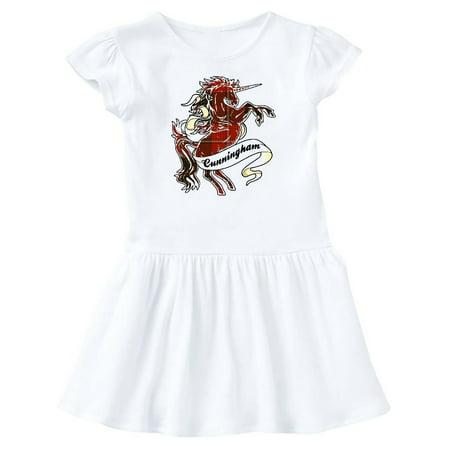 Cunningham Tartan Unicorn Infant Dress](Tarzan Dress)