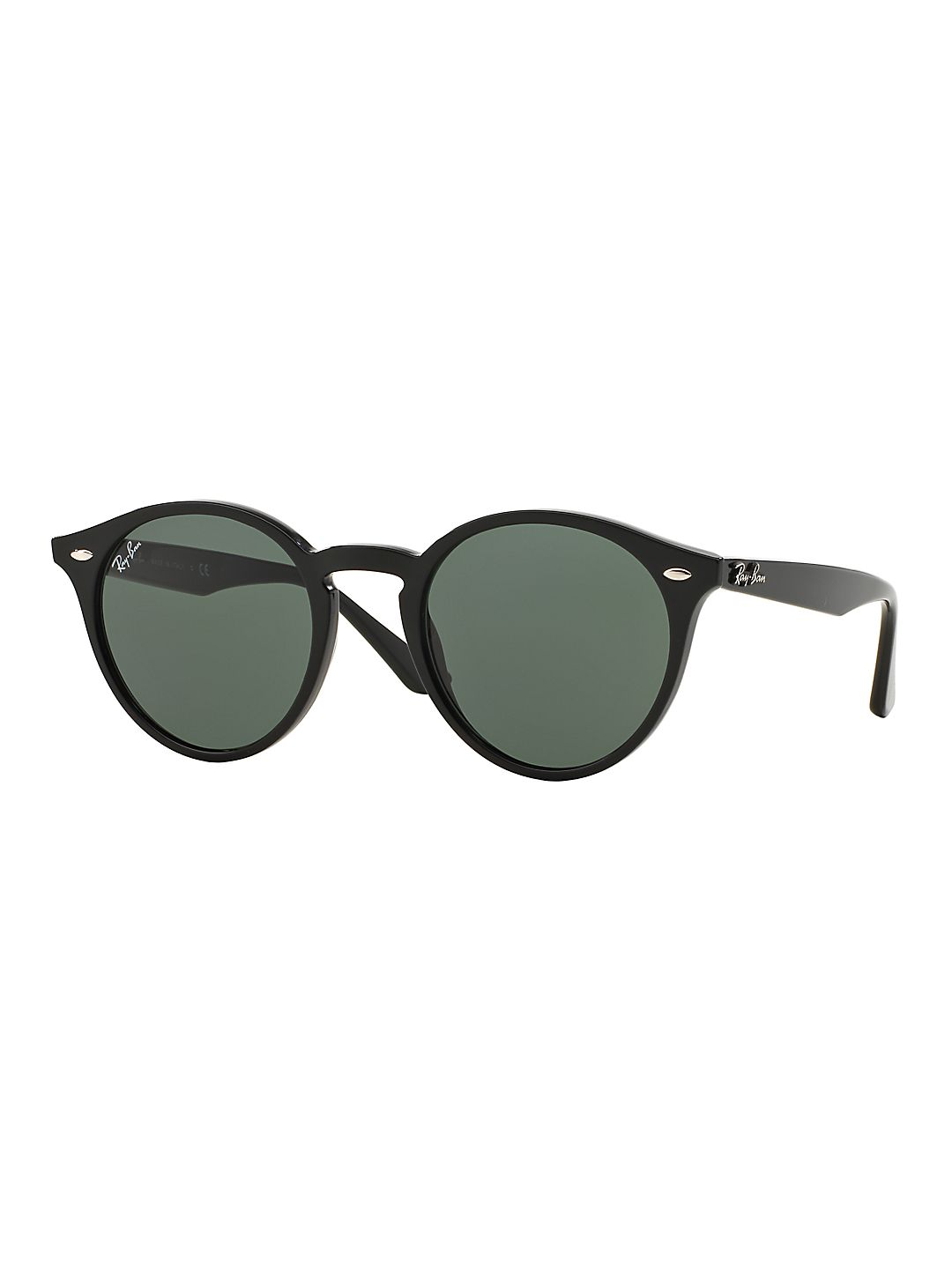 Ray-Ban Unisex RB2180 Round Sunglasses, 49mm
