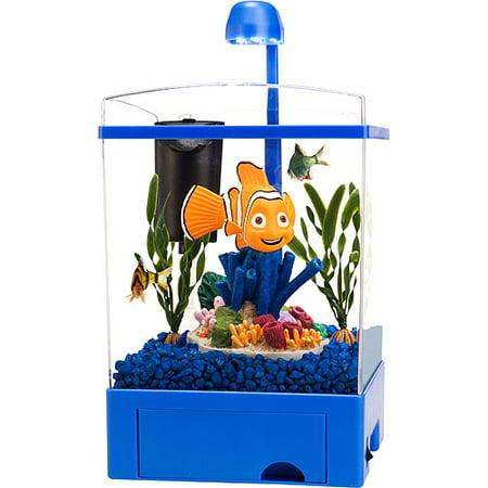 Disney 39 s finding nemo aquarium kit 1 5 gallons for Finding nemo fish tank