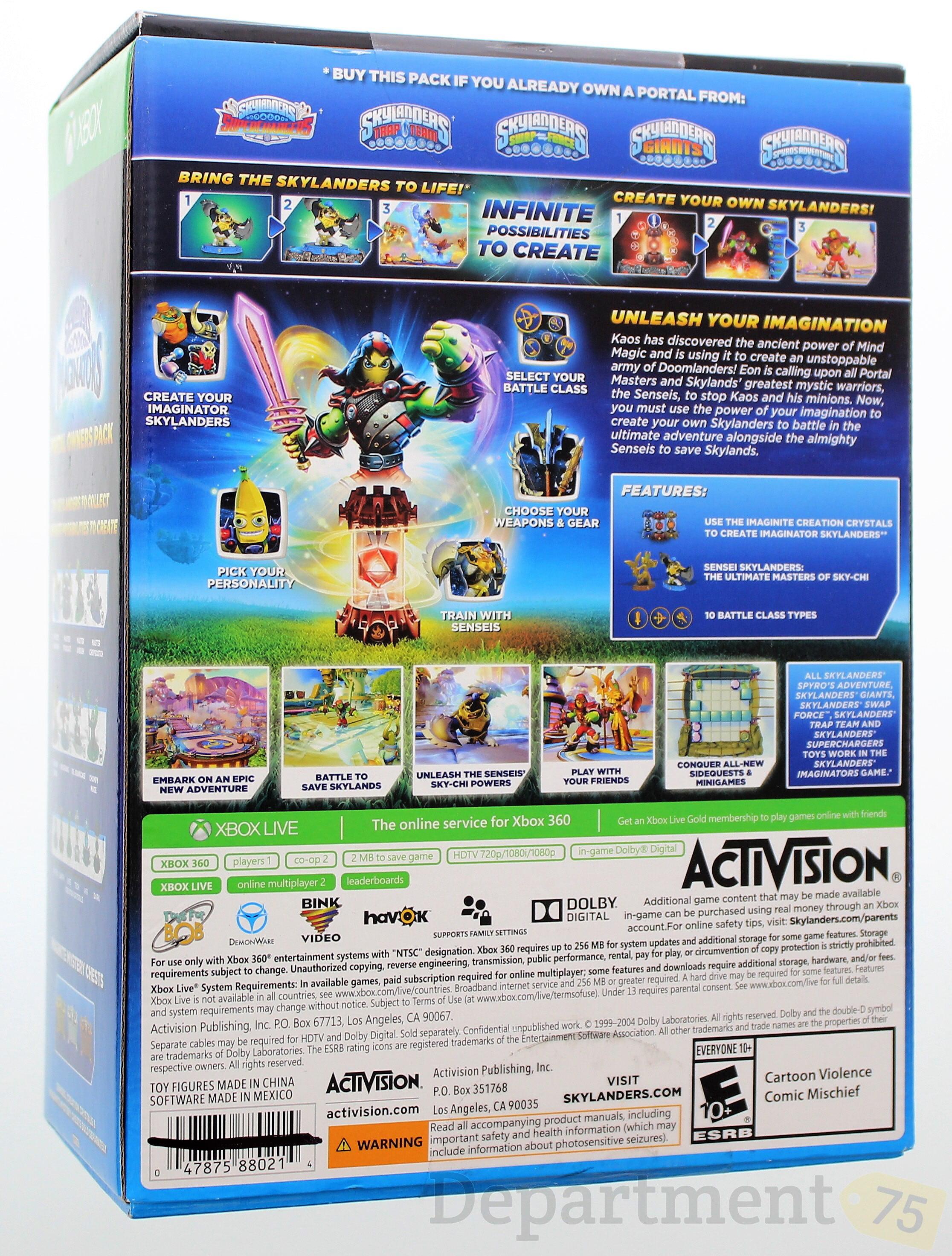 Skylanders Xbox 360 Imaginators Portal Owners Pack (Wal-Mart