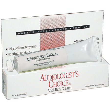 Anti-Itch Cream, Audiologists Choice cream for itchy ears. By Audiologists