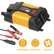 iMounTEK 6000Watts Peak Power Inverter DC 12V to AC 110V Car Power Inverter