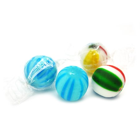 SweetGourmet Jumbo Cherry & Blue Raspberry Mix Balls |Berry Hard Candy Bulk | Kosher | 15oz bag
