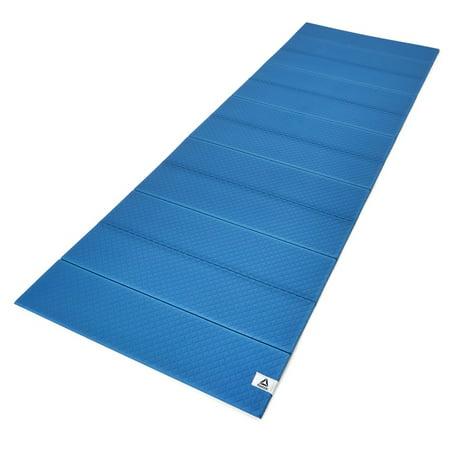 Reebok Folded 6mm Yoga Mat - Blue