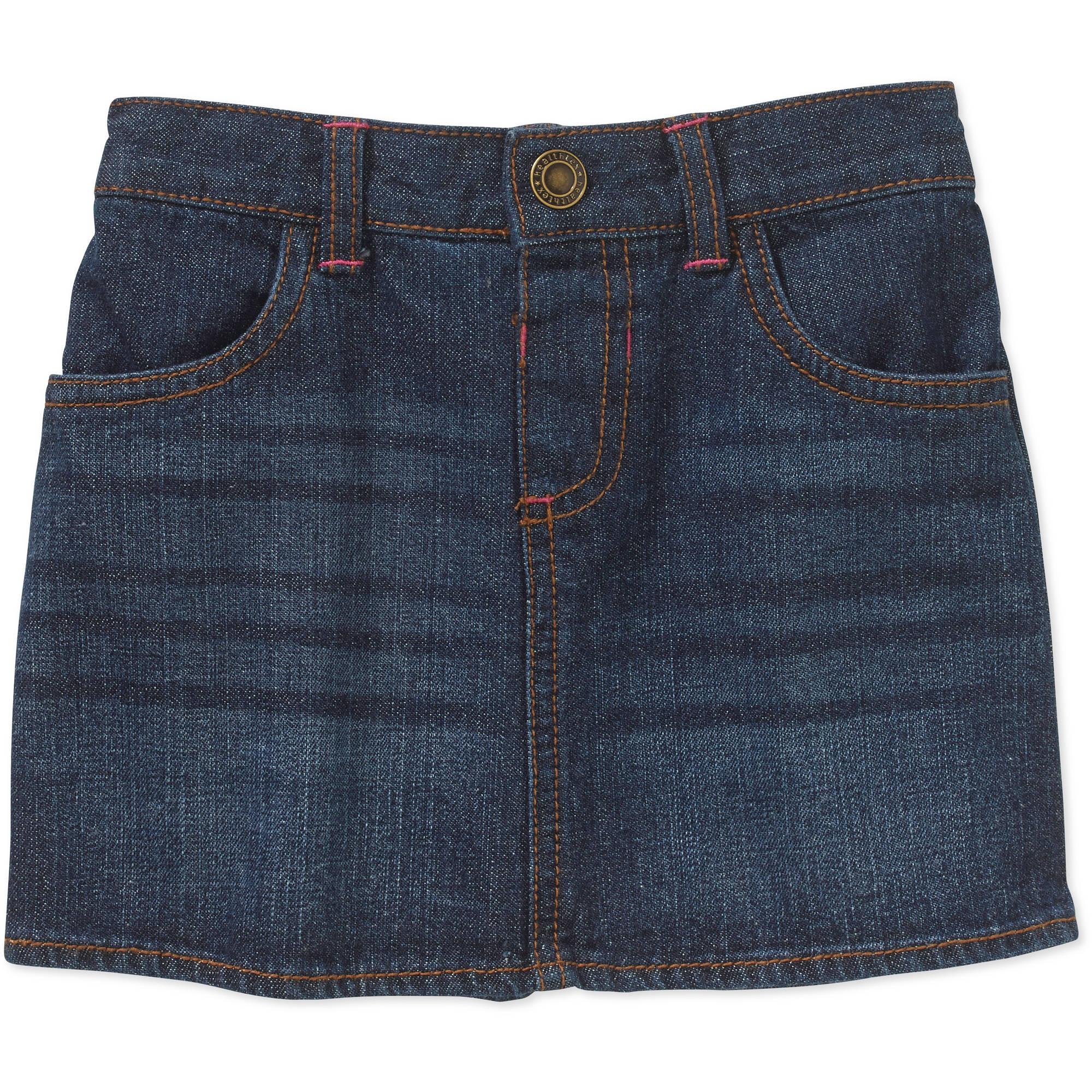 healthtex infant denim skirt walmart