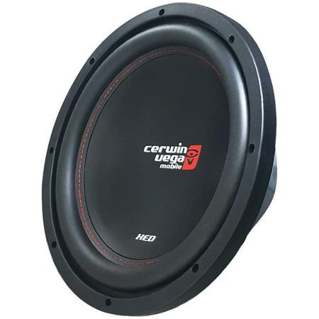 - Cerwin-Vega Mobile XED12V2 XED Series SVC 4Ω 12