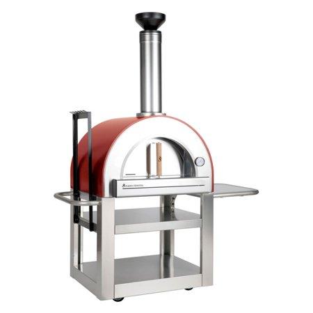 Forno Venetzia Pronto 500 Outdoor Wood Burning Pizza (Best Wood Burning Oven)