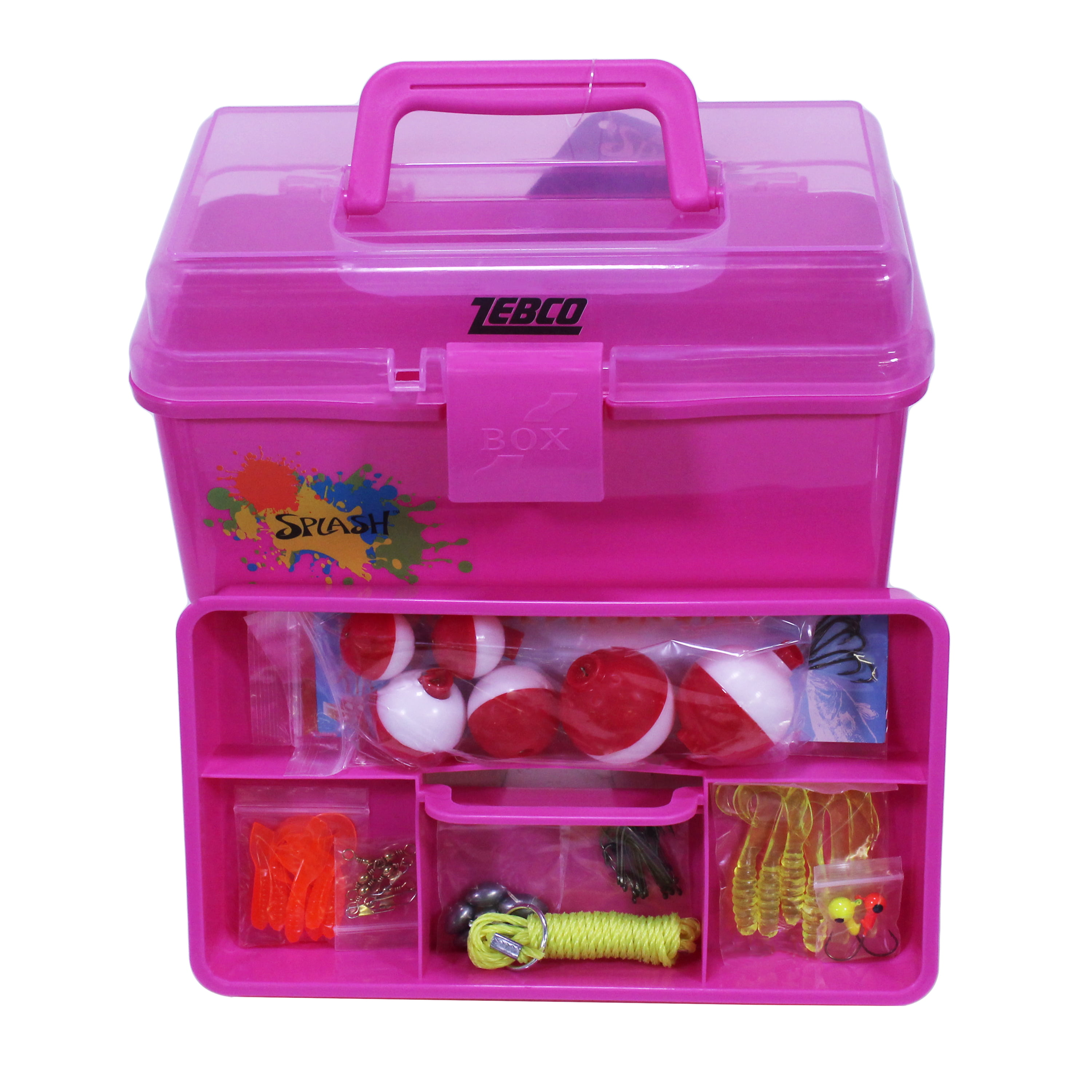 Zebco Kids Splash Tackle Box by Zebco Sales Company, LLC.