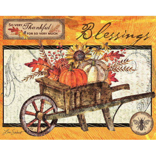 Lang Blessings Fragrance Warmer Artwork Replacement Insert
