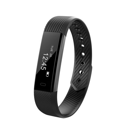 Fitness Tracker Smart Bracelet BT Call Reminder Remote Self-Timer Smart Watch Activity Tracker Calorie Counter Wireless Pedometer Sports Band Sleep Monitor for Android iOS