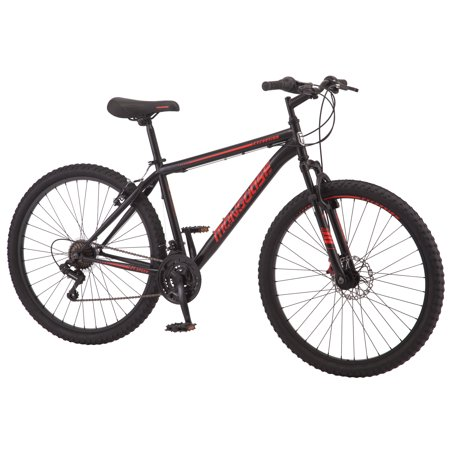 Mongoose Excursion mountain bike, 27.5-inch wheel, 21 speeds, men's frame,
