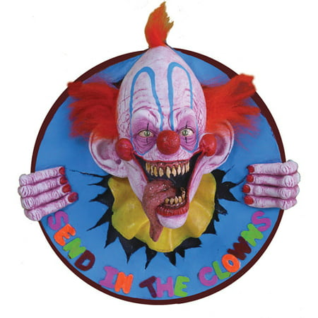 Life-Size Send in the Clowns Halloween Prop - Holloween Clown