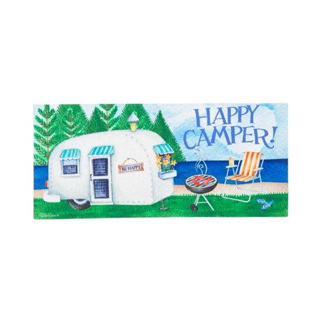 Evergreen Sassafras Switch Mat - Happy Camper ()
