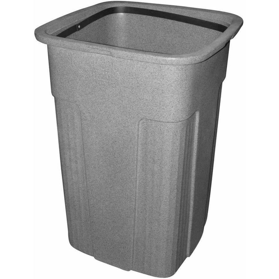 Toter 50 Gallon Square Slimline Trash Can