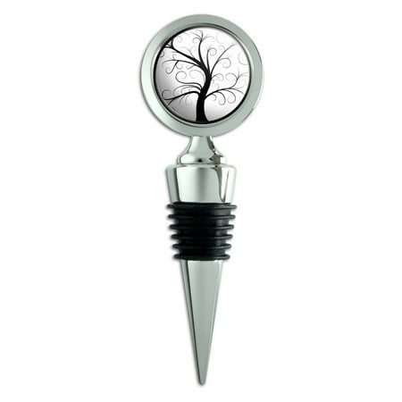 Tree of Life Wine Bottle Stopper (Square Wine Bottle Stopper)