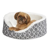 Midwest Orthopedic Nesting Dog Bed with Teflon, Small, Gray