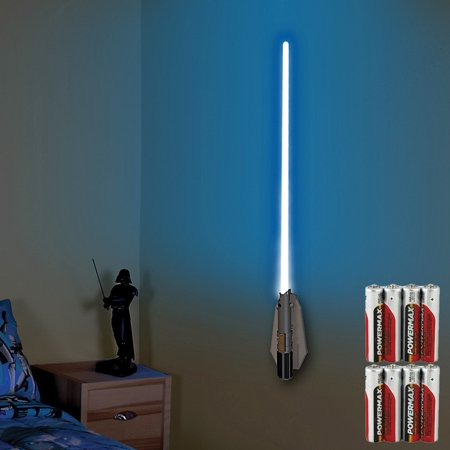 Lightsaber Light (Star Wars Deluxe Color Changing Lightsaber Room Light w/ Remote &)