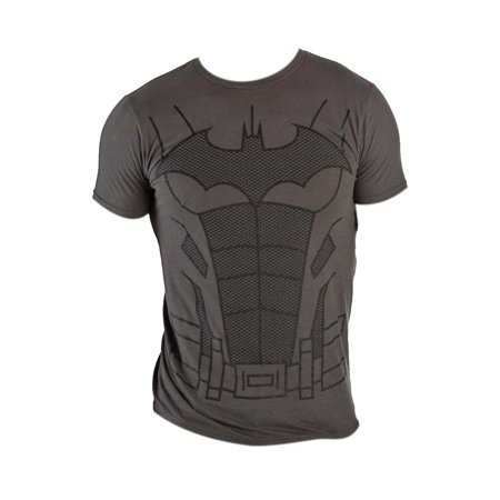 Batman Suit Up Charcoal Costume Tee Shirt - Beware The Batman Suit