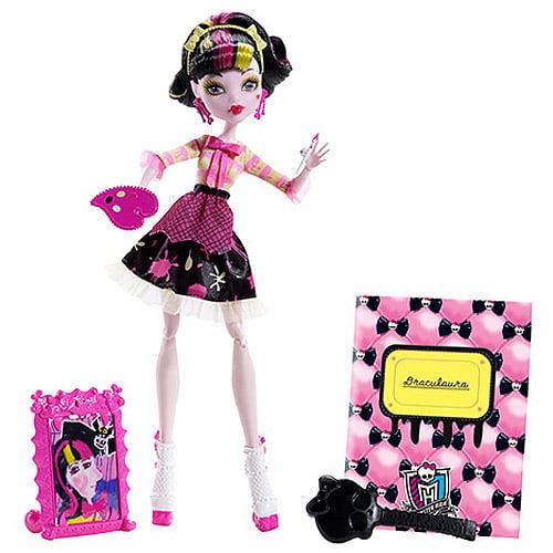 Monster High Art Class Draculaura Doll by Mattel