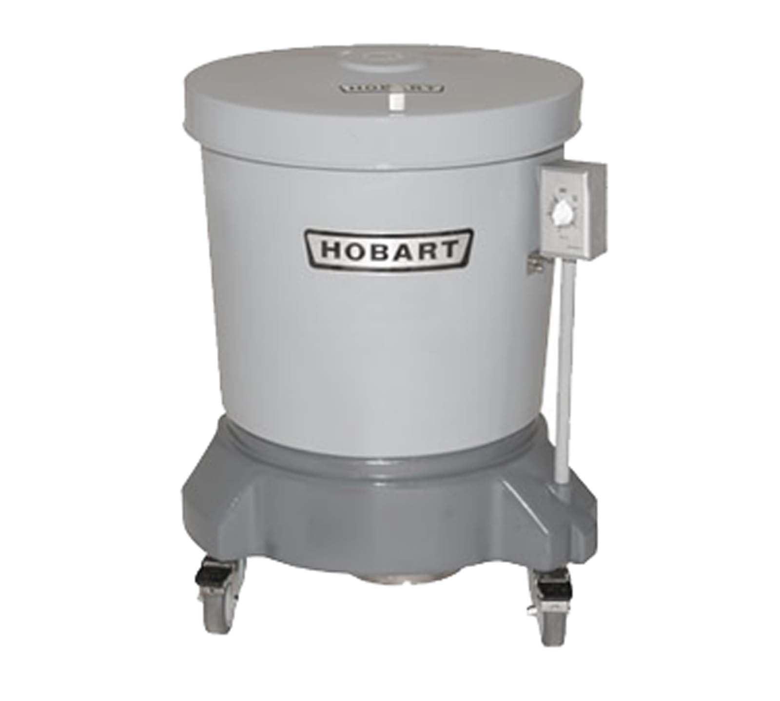 Hobart SDPE-11 Single Phase Polyethylene Salad Dryer with 20 Gallon Capacity by