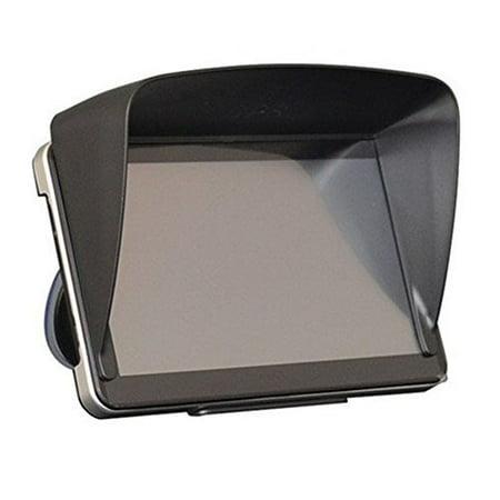 AGPtek Sun Shade Shield Glare Visor For 7 inch Car Vehicle GPS Navigator Monitor ()