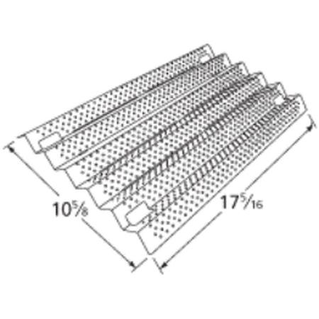 Stainless Steel Heat Plate for Kirkland, Nexgrill Brand Gas Grills