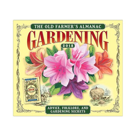 Old Farmer S Almanac  Gardening   Advice  Folklore  And Gardening Secrets 2018 Boxed Daily Calendar