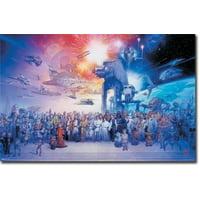 Star Wars - Galaxy Poster Print (24 X 36)