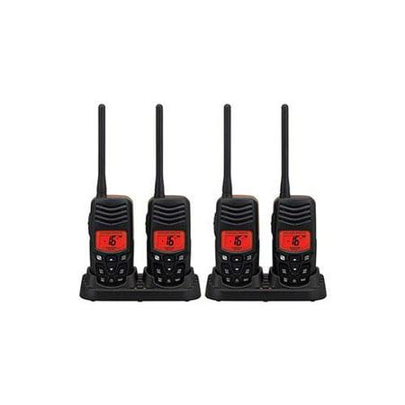 Standard Horizon HX100 (4 Pack) Handheld VHF Radio Twin Pack