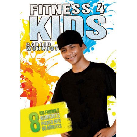 Fitness for Kids: Cardio Workout (DVD) (Best Youtube Fitness Videos)