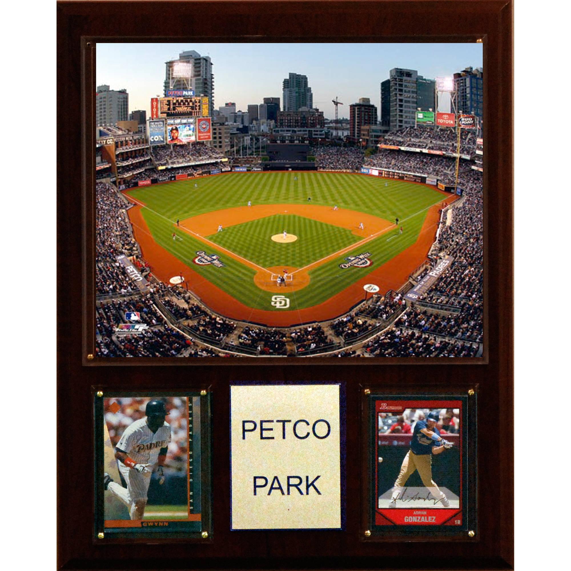 C&I Collectables MLB 12x15 Petco Park Stadium Plaque