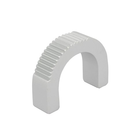 Unique BargainsXK622W-1U Aluminum Half Round Shaped Pull Handle Knob - Aluminum Round Handle