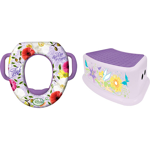 Disney - Fairies Soft Potty and Step Stool