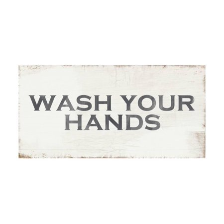 Handprint Art Projects (Wash Your Hands Print Wall Art By Linda)