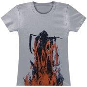 Korn  Grim Reaper Girls Jr Soft tee Grey