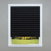 Original Blackout Pleated Paper Shade Black 6 Pack Walmart Com Walmart Com