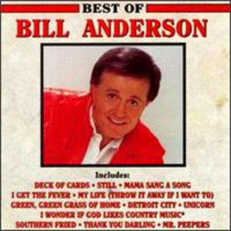 Bill Anderson - Best of Bill Anderson [CD] (Bill Best Berea Ky)