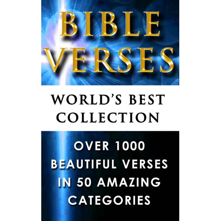 Bible Verses - World's Best Collection - eBook (Top 5 Best Bible Verses)