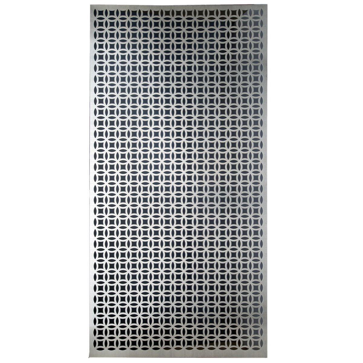 MD Building Products 57322 Decorative Elliptical Aluminum Sheet