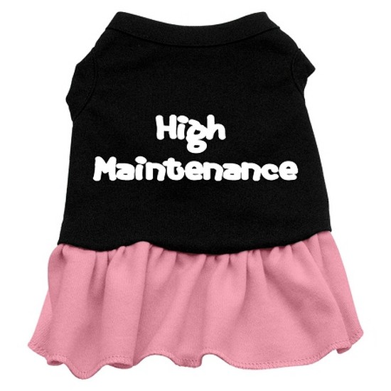 High Maintenance Dresses Black with Pink Sm (10)