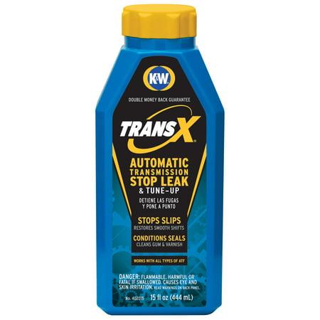 K&W Trans-X Automatic Transmission Slip-Stop & Leak Fix, 15 Fl Oz