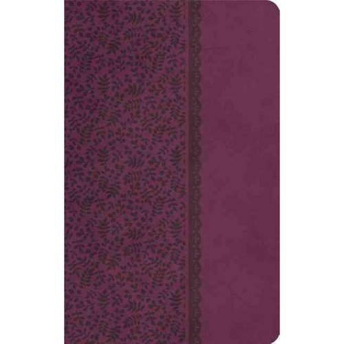 Holy Bible: King James Version, Plum, Leathersoft, UltraSlim Edition