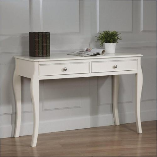 Coaster Dominique Table Desk in White