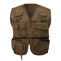 frogg toggs cascades classic50 vest, large, stone